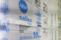 Поликарбонат 6мм. Sellex Inside, 12x2,1 метров прозрачный